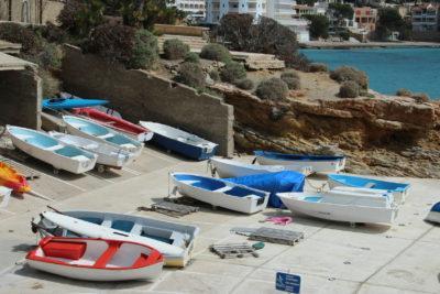 Boote im Hafen auf Mallorca