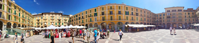 Placa Major, Palma de Mallorca - Panorama